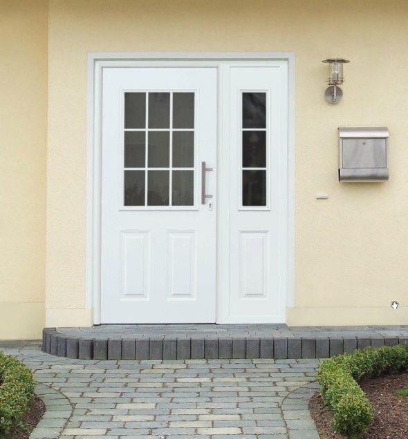 Алюминиевая входная дверь Hormann