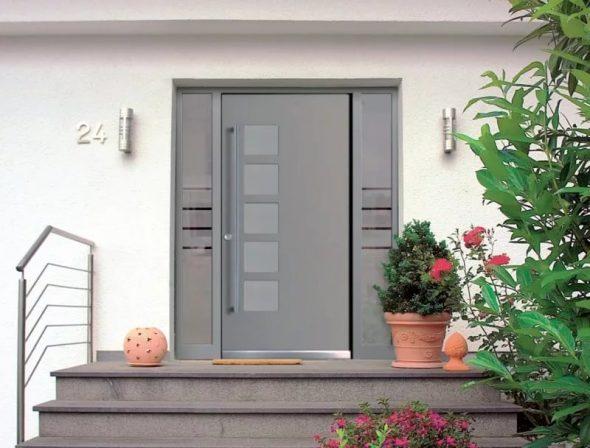 Алюминиевая дверь NB-Sali