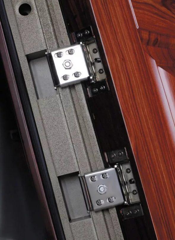 Безопасные петли для входных дверей