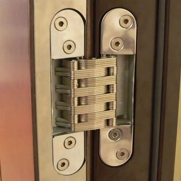 Скрытые петли для входной двери