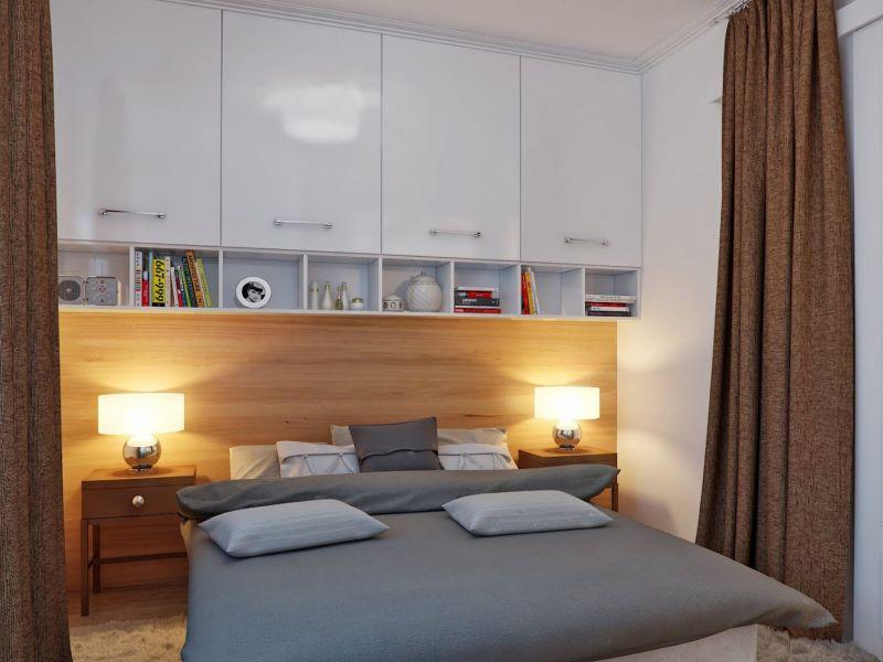 Идеи дизайна спальни с площадью 8 кв.м.