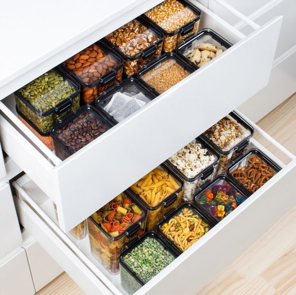 Хранение круп на кухне