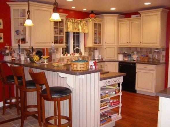 Барная стойка для кухни-гостиной