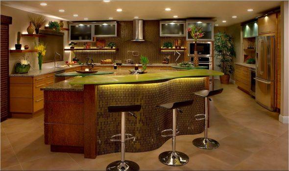 Дизайн барной стойки в доме