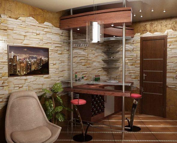 Барная стойка для квартиры