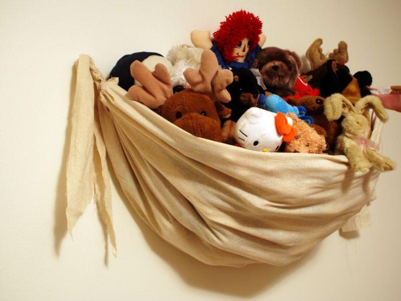 Лучшие способы хранения мягких игрушек