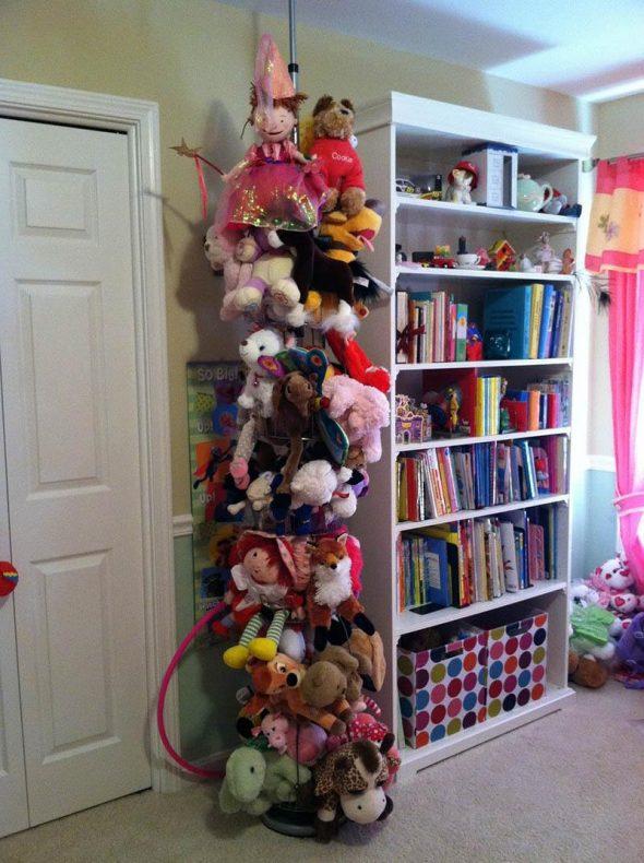 Хранение мягких игрушек