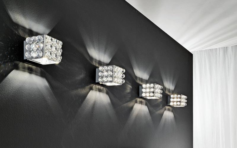 Декоративные светильники с направленным светом в интерьере