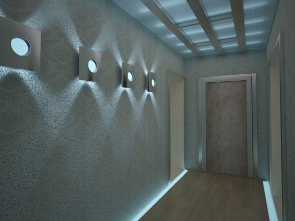 Светильники с направленным светом в интерьере