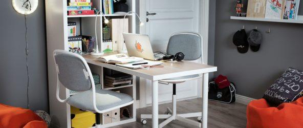 Организация рабочего места с помощью «Икеа»: стильно и удобно