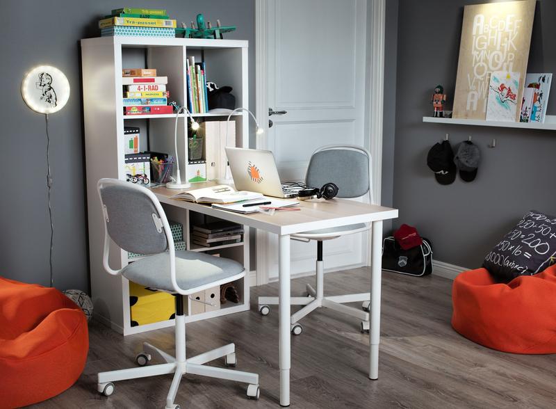 Организация рабочего места с помощью «Икеи»: стильно и удобно