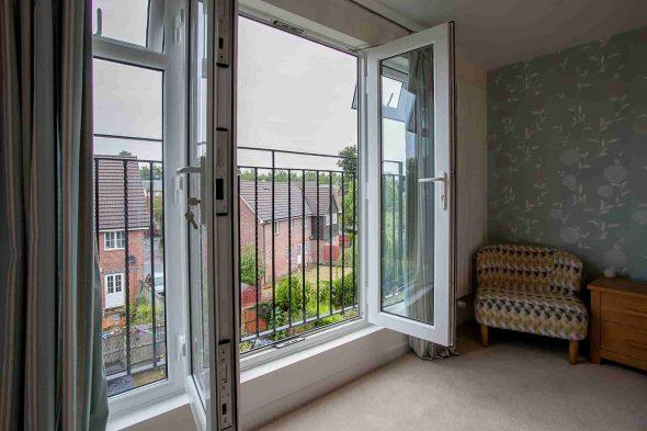 французское окно вместо балконного