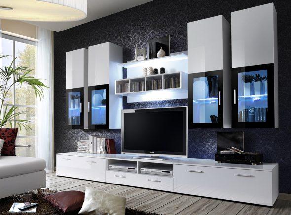 модная мебель для зала