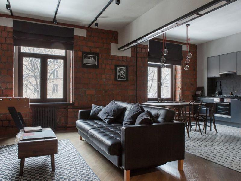Примеры холостяцких квартир на фото