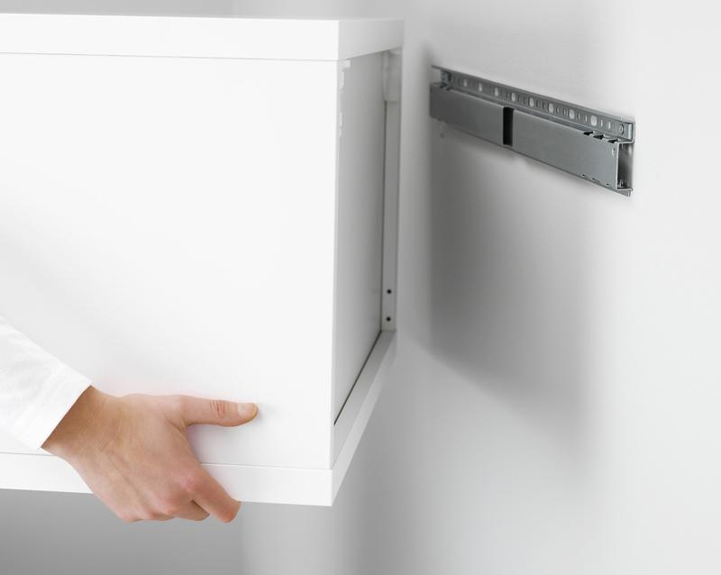 На какие крепления вешать кухонные шкафы