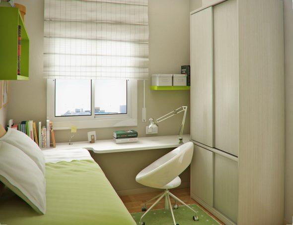 очень маленькая комната для подростка мальчика