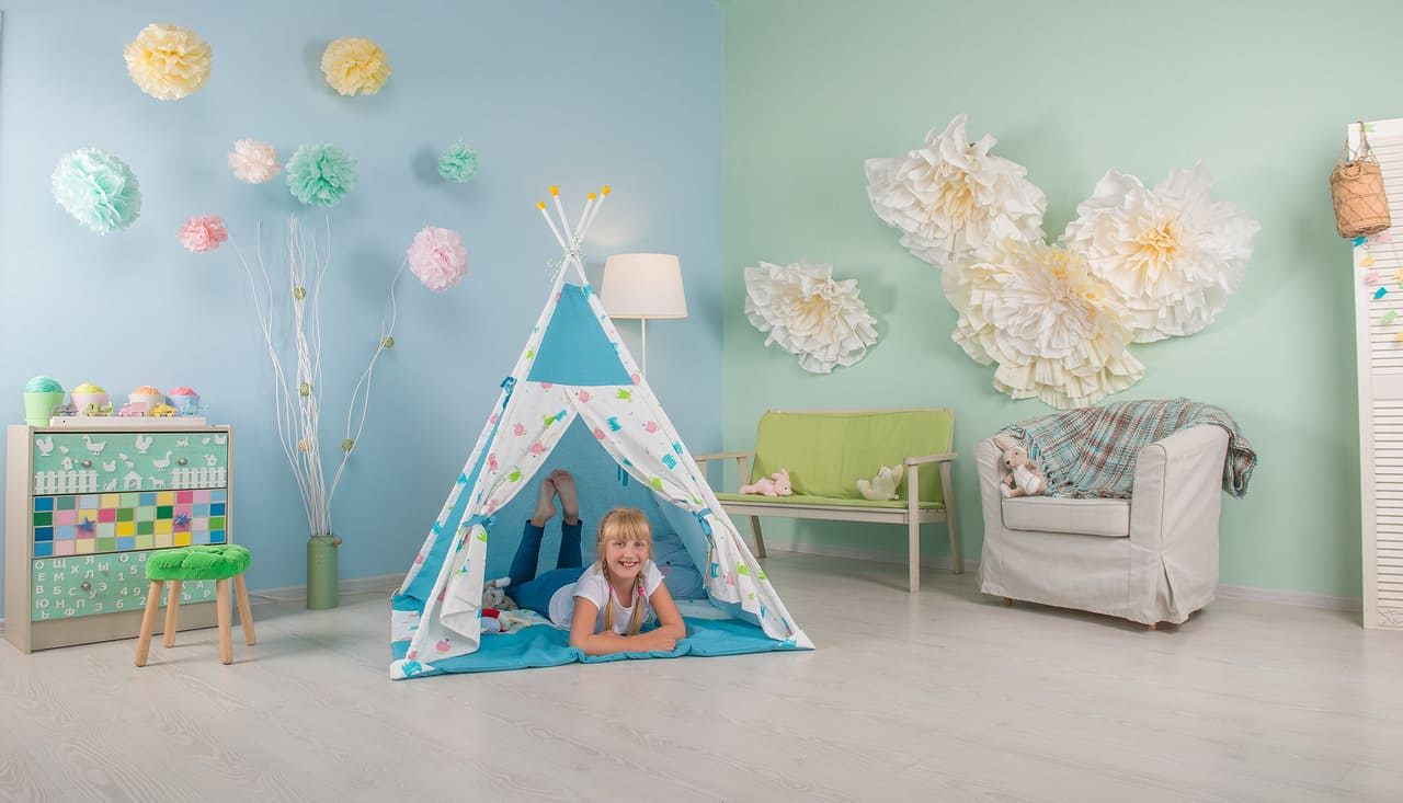 9 вещей, которые превратят комнату в детскую мечты