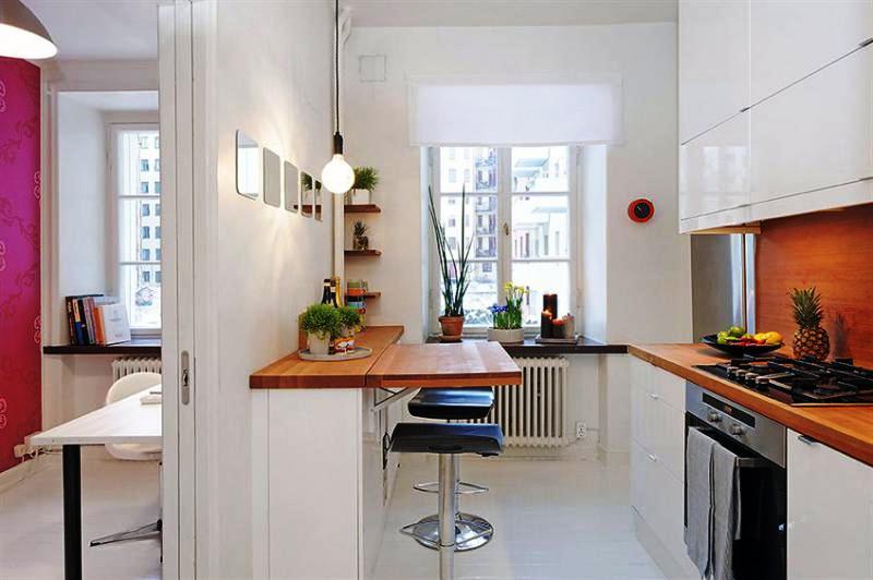 Блажь или необходимость: 8 идей для барной стойки на кухне
