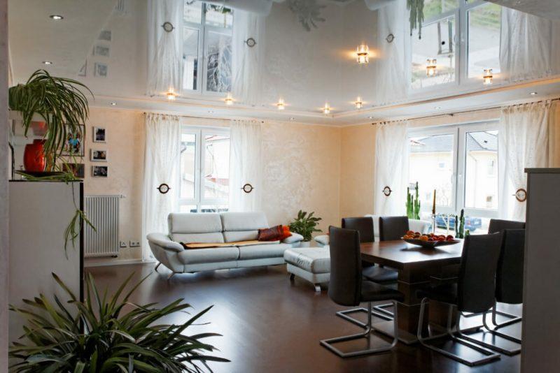Как «приподнять» низкий потолок: 6 действенных приемов