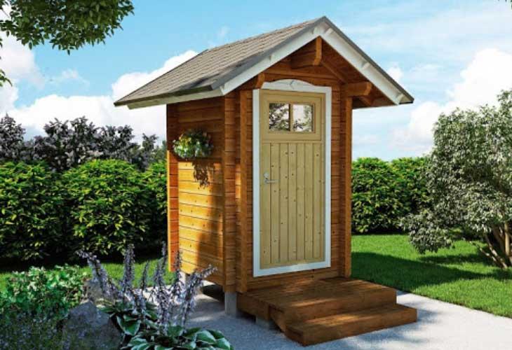 Туалет на даче своими руками – чертежи и размеры